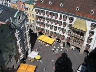 ʺThe Golden Roofʺ seen from the town hall tower