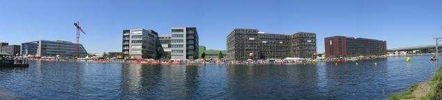 Duisburg Innenhafen (innerer Bereich); Aufnahmestandort: nahe Küppersmühle