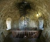 Sparrenburg, im Inneren des Turms