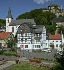 Pfarrkirche St. Mariä und Burg Blankenheim
