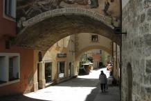 Burghausen, nördlicher Eingang in die mittelalterlichen ʺGrübenʺ