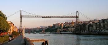 Puente Vizcaya, Transporter Bridge between Portugalete a Las Arenas - Areeta