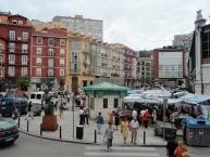 Market of Good Hope in Santander