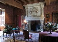 Salon Biencourt in the Château dʹAzay-le-Rideau