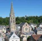 Parish church of St. John Baptist de Langeais
