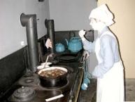 Der Küchenbereich im Servantsʹ Museum