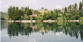 National park Krka, Visovac Island