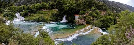 Krka river - Skradinski buk waterfalls