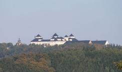 The Augustusburg (Saxony) seen from Witzschdorf