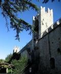 Piran town wall