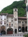 Clock Tower in Serravalle