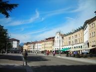 Belluno, the Listone of Piazza dei Martiri