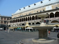 Palazzo della Ragione seen from Piazza delle Erbe, Padua