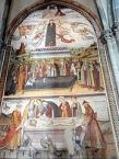 Sacra di San Michele - Affresco dellʹAssunzione di Maria
