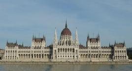 Renovated Parliament Building Hungary, Budapest
