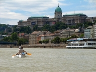 Buda Castle, the historical castle complex of the Hungarian kings in Budapest