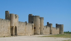 Medieval town walls of Aigues-Mortes