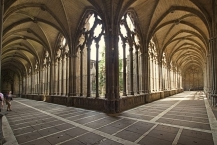 Cloister of Pamplona Cathedral