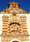 Detalle portada, Monasterio de San Pedro de Cardeña, Castrillo del Val