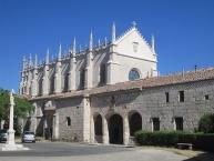 Vista exterior de la Cartuja de Miraflores, en Burgos