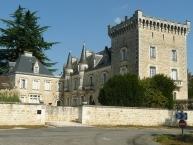 Château de La Couronne à Marthon
