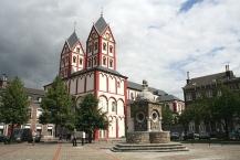 Liège, la collégiale Saint-Barthélemy