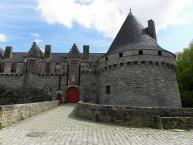 Château des Rohan à Pontivy