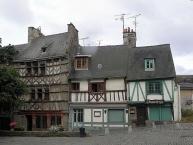 Maisons sise 15, 17 et 19 rue Fardel à Saint-Brieuc