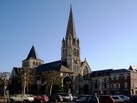 Lʹéglise abbatiale de Montivilliers