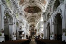 Kloster Waldsassen, Innenraum der Stiftsbasilika