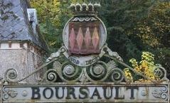 Armoirie de Boursault