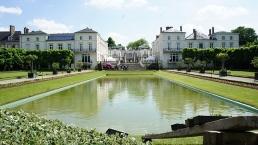 Vue du parc et du château Moët & Chandon
