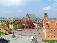 Castle Square and the Royal Castle, Warsaw