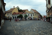 Main Square in the old town of Szentendre