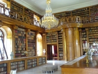Interior of the Festetics Palace, Keszthely