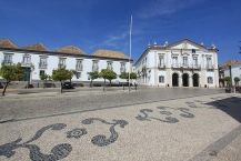 Bishop palace and Town Hall in Faro