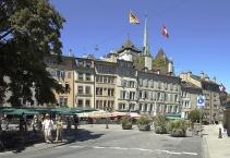 Place du Bourg de Four in Geneva