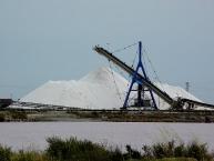 Salt production in Aigues-Mortes