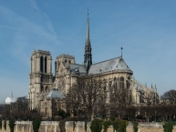 Notre-Dame de Paris as seen from south