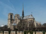 Notre-Dame de Paris as seen from south