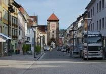 Villingen, Bickenstraße mit Bickentor