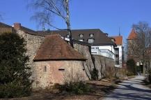 Villingen, Pulvertürmle an der Stadtmauer