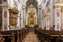 Nave and high altar of Göttweig Abbey Church