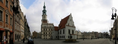 Old Market Square in Poznań