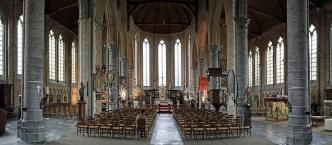 interior of Onze-Lieve-Vrouwekerk