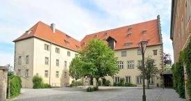 Mellrichstadt, Altes Schloss, Innenhof