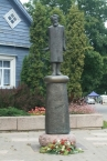 Denkmal von Karlis Baumanis