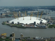 O2 Arena, near to Blackwall Tunnel, Greenwich