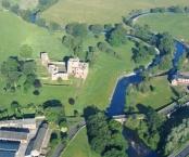 River Eamont at Brougham Castle