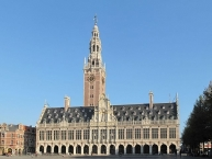 Leuven, university library
